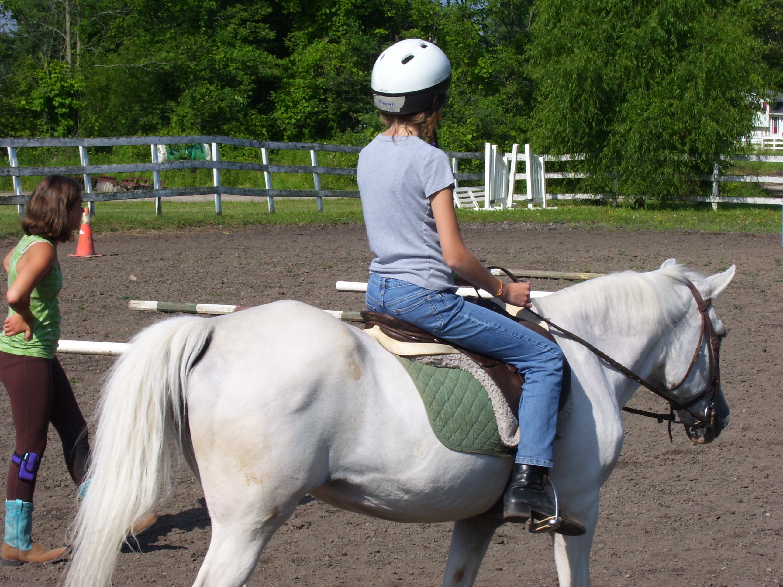 Girl Scout Horse Camp | Muddy Creek Farms